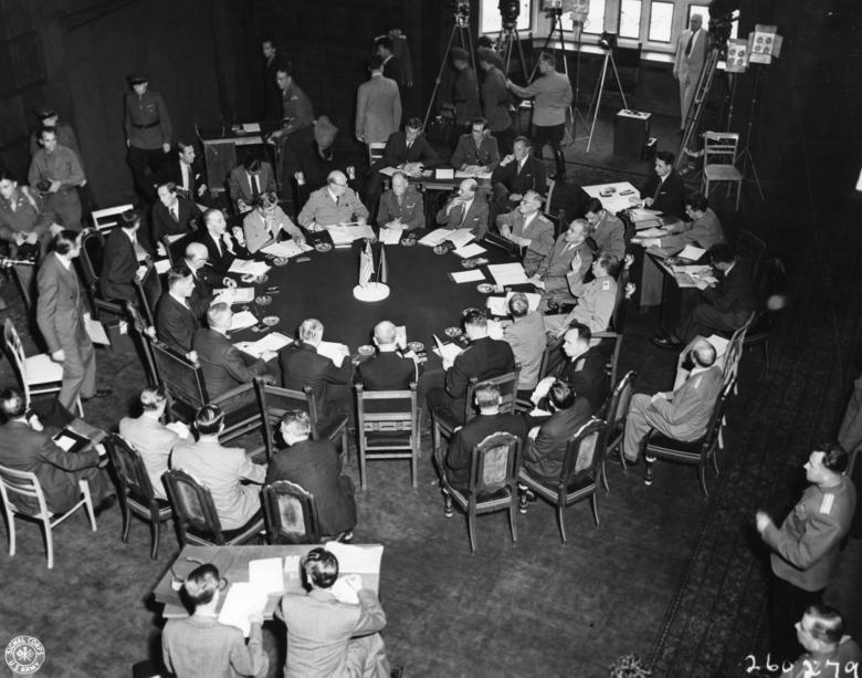 表 第二次大戦中の主な連合国首脳会議